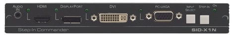 Kramer SID-X1N 4-Input Multi-Format Video over DGKat Transmitter & Step-In Commander SID-X1N