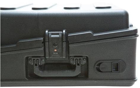 SKB Cases 1SKB-R100 Roto-Molded 10RU Top Rack Mixer Case 1SKB-R100