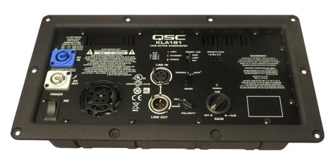 QSC WP-001242-00 Amp Assembly for KLA181 WP-001242-00