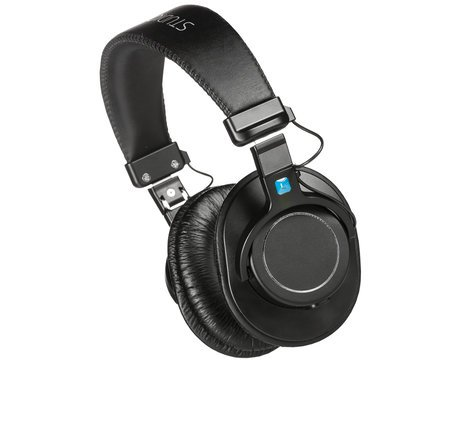 Apex Electronics HP100  Closed Back Collapsible Stereo Headphones with Detachable Cable HP100