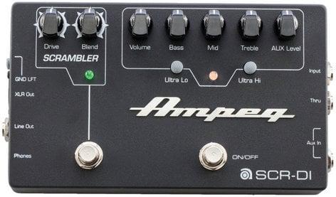 Ampeg SCR-DI Bass Guitar DI Pedal with Scrambler Overdrive SCR-DI