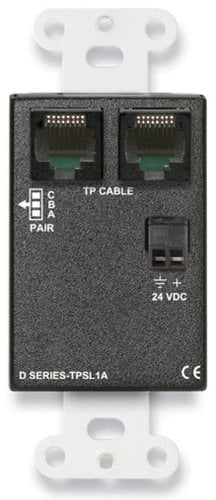 Radio Design Labs DB-TPSL1A Active Single Pair Sender - Twisted Pair Format-A - Mini-Jack & Stereo RCA In DB-TPSL1A