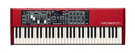 Nord USA Electro 5D 61 61-Key Synthesizer with Semi-Weighted Waterfall Keybed ELECTRO-5D-SW61