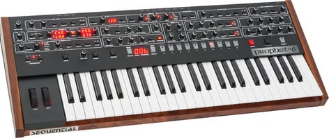 Dave Smith Instruments Prophet 6 48-Key 6-Voice Polyphonic Analog Synthesizer PROPHET-06