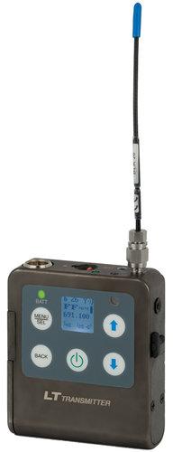 Lectrosonics ZS-LRLT-B1 L-Series Digital Hybrid Wireless Bodypack System with LT Transmitter and Lavalier Microphone, B1 Block 573.600 - 614.375 MHz ZS-LRLT-B1