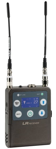 Lectrosonics ZS-LRLT-B1 L-Series Digital Hybrid Wireless Bodypack System with LT Transmitter and Lavalier Microphone, B1 Block 573.600 - 614.375 MHz ZS-LRLT-B1