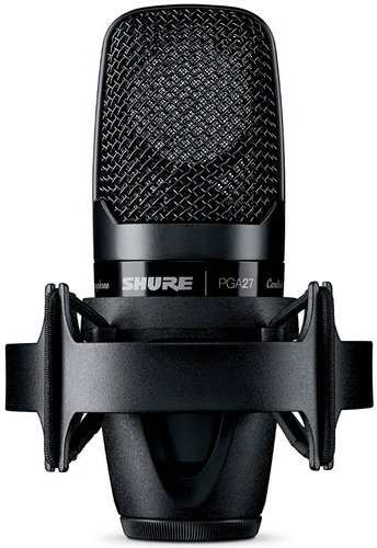 Shure PGA27LC PG ALTA Large Diaphragm Side-Address Cardioid Condenser Microphone without Cable PGA27LC