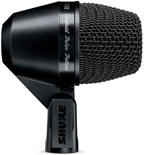 Shure PGA52-LC PG ALTA Cardioid Dynamic Kick Drum Microphone without Cable PGA52LC