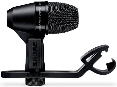 Shure PGA56-LC PG ALTA Cardioid Dynamic Snare Drum / Tom Microphone with A50D Clip Mount without Cable PGA56LC
