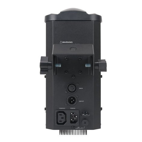 ADJ Inno Pocket Roll Pak Kit featuring (2) Mini Moving Roller LED Fixtures with (1) F4 Par Bag POCKET-ROLL-PAK