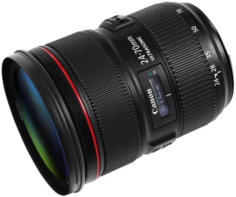 Canon 5175B002 EF 24-70mm f/2.8 II USM Standard Zoom Lens 5175B002