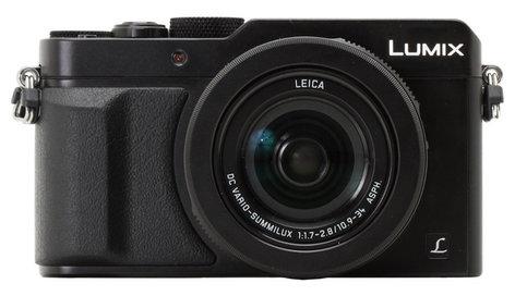 Panasonic DMC-LX100K 16.8MP LUMIX LX100 Integrated Leica DC Lens Camera with Advanced Controls in Black DMC-LX100K