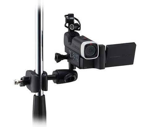 Zoom MSM-1  Microphone Stand Mount for Q4 Handheld Video Recorder MSM-1