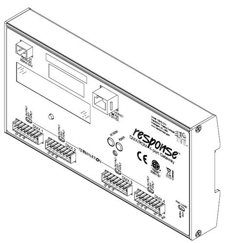 ETC/Elec Theatre Controls 4260A1014 Net3 Gateway RJ45 Connector Module for DMX 4260A1014