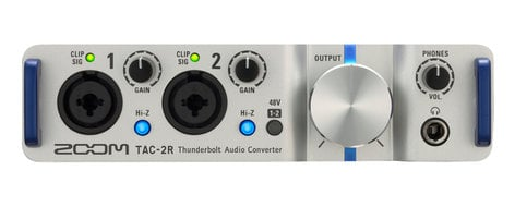 Zoom TAC-2R 2-Channel Thunderbolt Audio Interface TAC-2R