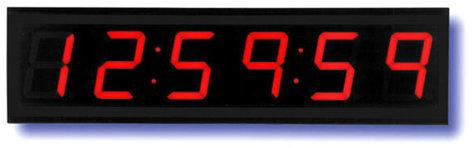 TecNec ES-943U  Time Code Remote Display with Red Display ES-943U
