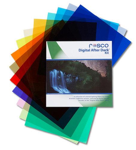 "Rosco Laboratories 110114120001 12""x12"" Digital After Dark Kit 110114120001"