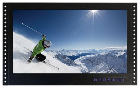 """ToteVision LED-1906HDMTR 19"""" Rackmount HD LCD Monitor with Tuner LED1906HDMTR"""