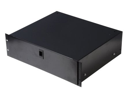 "Gator Cases Rackworks GRW-DRW2 2RU Lockable Rack Drawer with 14.2"" Depth GRW-DRW2"