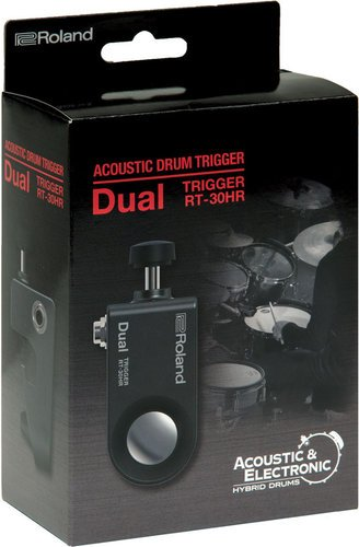 Roland RT30HR Dual Acoustic Drum Trigger for Snare Drums RT30HR