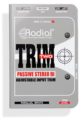 Radial Engineering Trim-Two Passive Stereo DI with Level Control TRIM-TWO