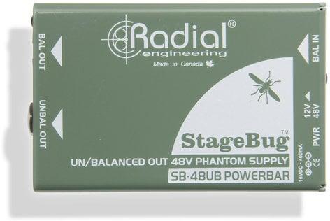 Radial Engineering SB-48UB StageBug Phantom Power Supply for PRZ-PRE, PZ-DI SB-48UB