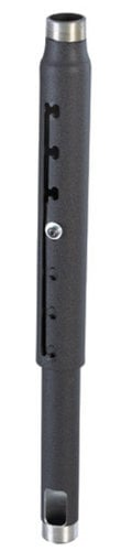 """Chief Manufacturing CMS009012S 9"""" to 12"""" Adjustable Extension Column in Silver CMS009012S"""