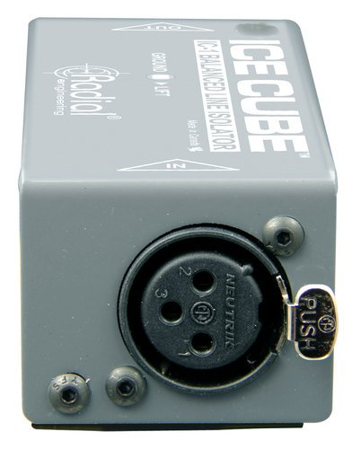 Radial Engineering IceCube™ IC-1 Balanced Line Isolator and Hum Eliminator IC-1