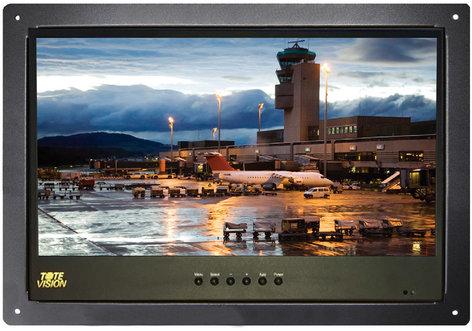 """ToteVision LED1562HDL HD 1.6"""" LED Screen Flush Mount Monitor Kit LED1562HDL"""