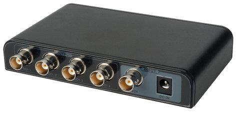 OCEAN MATRIX OMX-SDI-1X4 3G SDI 1x4 Splitter - Distribution Amplifier OMX-SDI-1X4