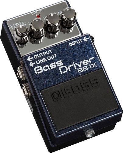 Boss BB-1X Bass Driver Bass Preamp Effects Pedal BB-1X