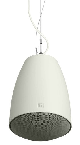 "TOA PE-604WU UL Rated 60W Pendant Speaker with 5"" Woofer in White PE604WU"