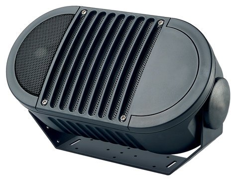 "Bogen Communications A6TBLK A-Series 6"" 2-Way Armadillo Speaker in Black with Multi-Tap 70V Transformer A6TBLK"