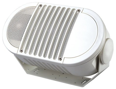"""Bogen Communications A6TWHT A-Series 6"""" 2-Way Armadillo Speaker with Multi-Tap 70V Transformer, White A6TWHT"""