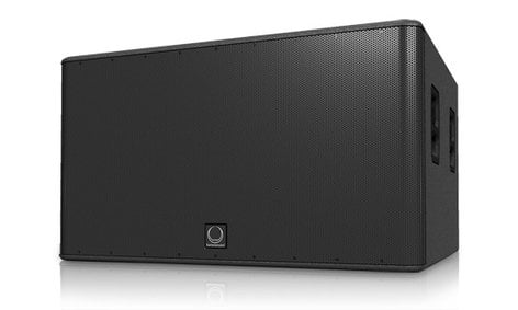 "Turbosound TMS218B 1,600W 2x18"" Front-Loaded Subwoofer TMS218B"