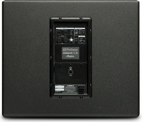 "PreSonus STUDIOLIVE-18SAI-EDU StudioLive 18sAI [EDUCATIONAL PRICING] 18"" Active Integration Subwoofer with 1000W Power Amplifier STUDIOLIVE-18SAI-EDU"