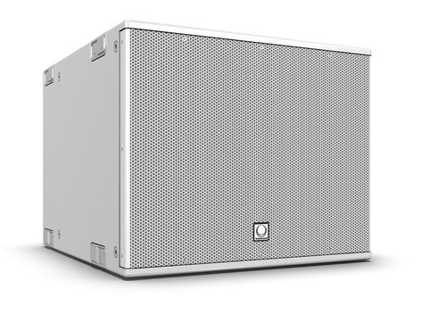 "Turbosound NuQ115B-WH 15"" 500W (8 Ohms) Portable Passive Front-Loaded Subwoofer in White NUQ115B-WH"