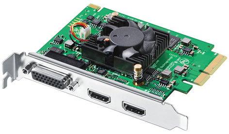 Blackmagic Design Intensity Pro 4K 4K HDMI PCI Express Capture Card with Breakout Cable INTENSITY-PRO-4K