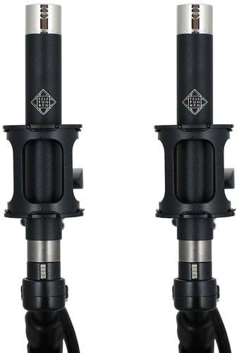 Telefunken Elektroakustik M61 Stereo Set Matched Pair of M61 Omnidirectional Condenser Microphones M61-STEREO-SET
