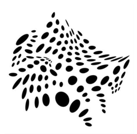 Apollo Design Technology MS-2587  Abstract Dots Steel Gobo MS-2587