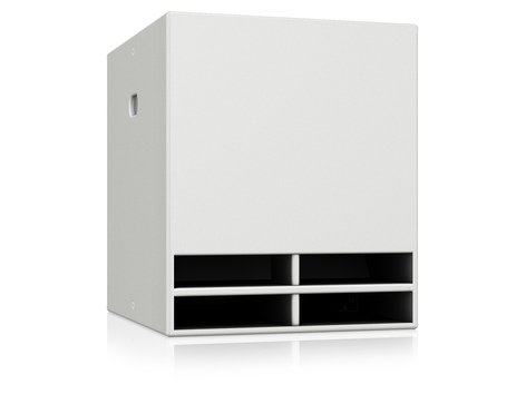 """Turbosound TCX-118B-WH 1,000W 18"""" Band Pass Subwoofer in White TCX-118B-WH"""