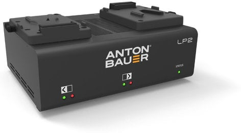 Anton Bauer 8475-0127 LP2 Dual V-Mount Charger 8475-0127