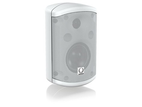 """Turbosound Impact TCI32-TRWH Pair of 3.5"""" 2-Way 30W Weather Resistant Loudspeakers in White with 70/100V & Low Impedance Operation TCI32TR-WH"""