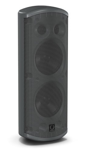 "Turbosound Impact TCI53-T Pair of Dual 5"" 120W 2-Way Loudspeakers in Black with 70/100V & Low Impeadance Operation TCI53T"