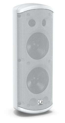 "Turbosound Impact TCI53-TR-WH Pair of Dual 5"" 120W 2-Way Weather Resistant Loudspeakers in White with 70/100V & Low Impeadance Operation TCI53TR-WH"