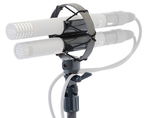Schoeps AMS 22 Elastic Suspension Mount for M/S Microphone Setup with Swivel AMS-22