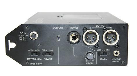 Azden FMX-42u 4-Channel Portable Field Mixer with USB Digital Audio Output FMX-42U