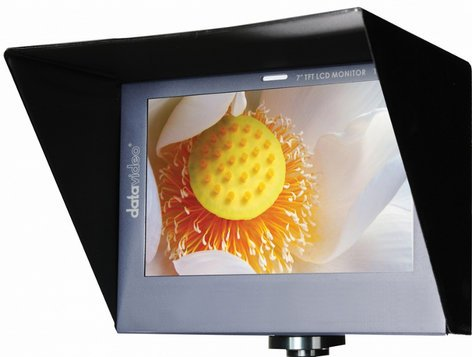 """Datavideo Corporation TLM-700HD-C  7"""" HD-SDI LED Backlit Monitor with Canon Battery Mount TLM-700HD-C"""