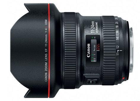 Canon 9520B002 EF 11-24mm F4L USM Ultra-Wide Zoom Lens 9520B002