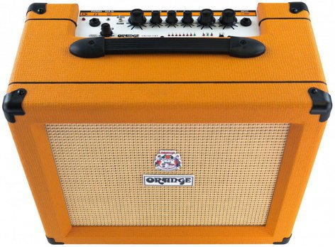 """Orange Amplification Crush 35RT 35W Guitar Amplifier with 10"""" Speaker and Reverb CRUSH35RT"""